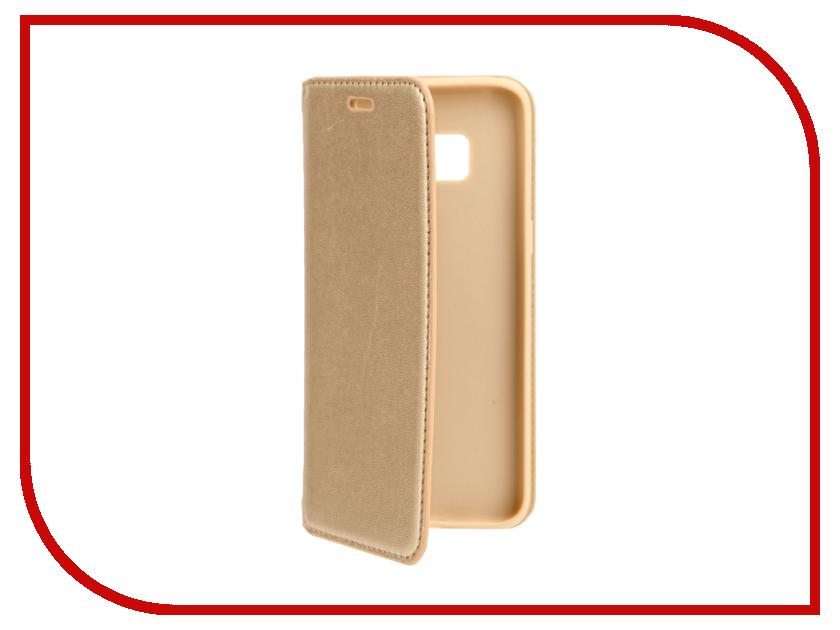 Аксессуар Чехол Samsung S8 Cojess Book Case New Gold с визитницей аксессуар чехол samsung galaxy a3 2016 cojess book case new black с визитницей