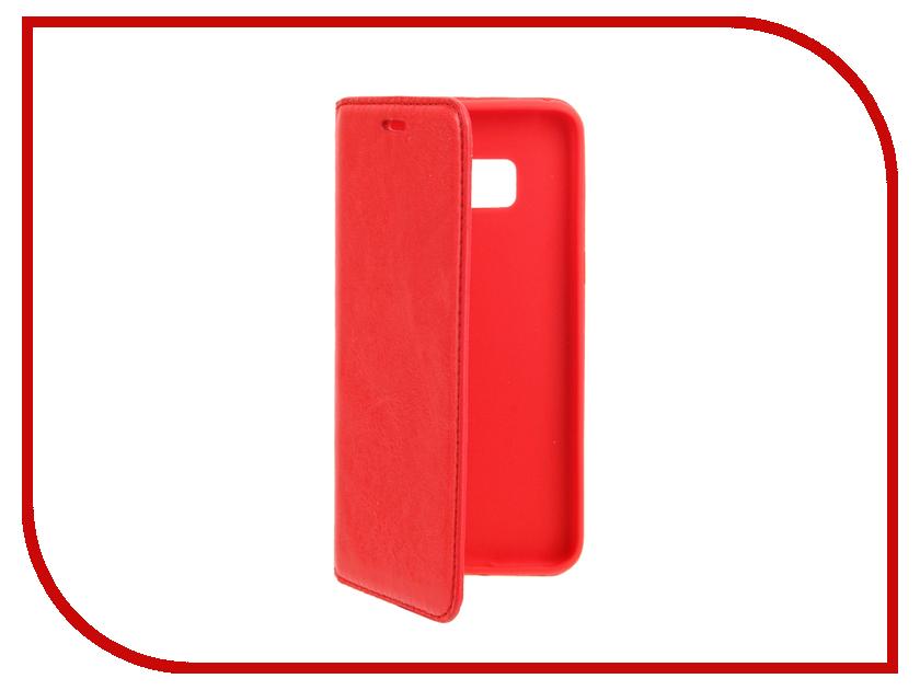 Аксессуар Чехол Samsung S8 Cojess Book Case New Red с визитницей аксессуар чехол cojess book case new для apple iphone 7 7s black