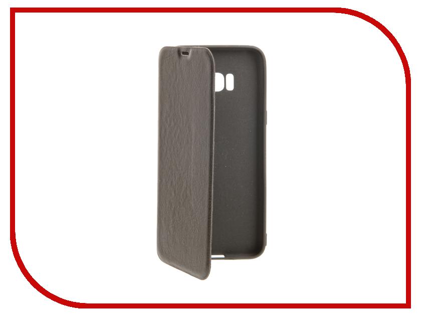 Аксессуар Чехол Samsung S8 Plus Cojess Book Case A Black с визитницей аксессуар чехол samsung galaxy a3 2016 cojess book case new black с визитницей