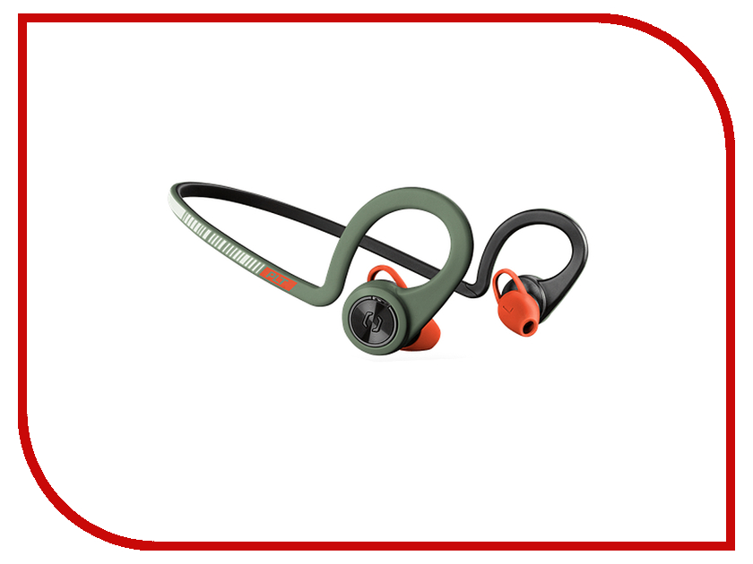 Plantronics BackBeat Fit Green-Orange 206004-05 backbeat