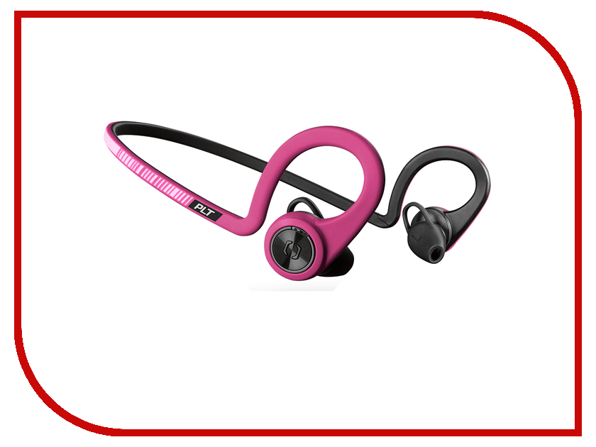 Plantronics BackBeat Fit Pink-Black 206003-05 backbeat