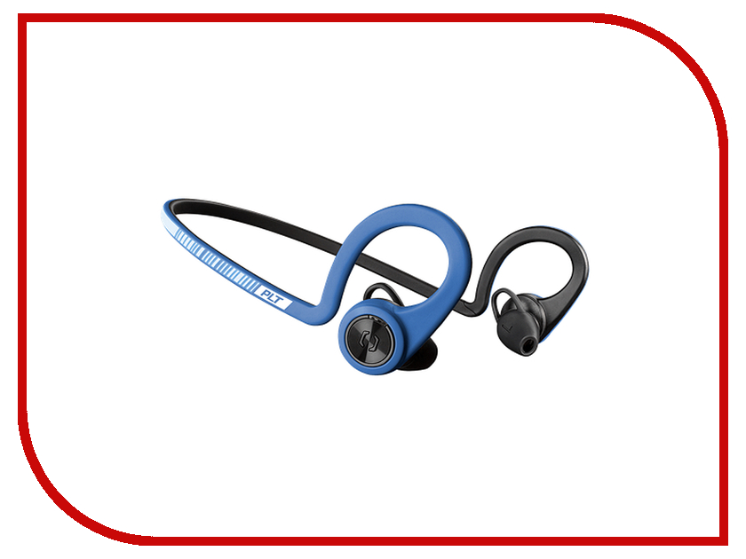 Plantronics BackBeat Fit Blue-Black 206001-05 гарнитура беспроводная plantronics backbeat fit red grey