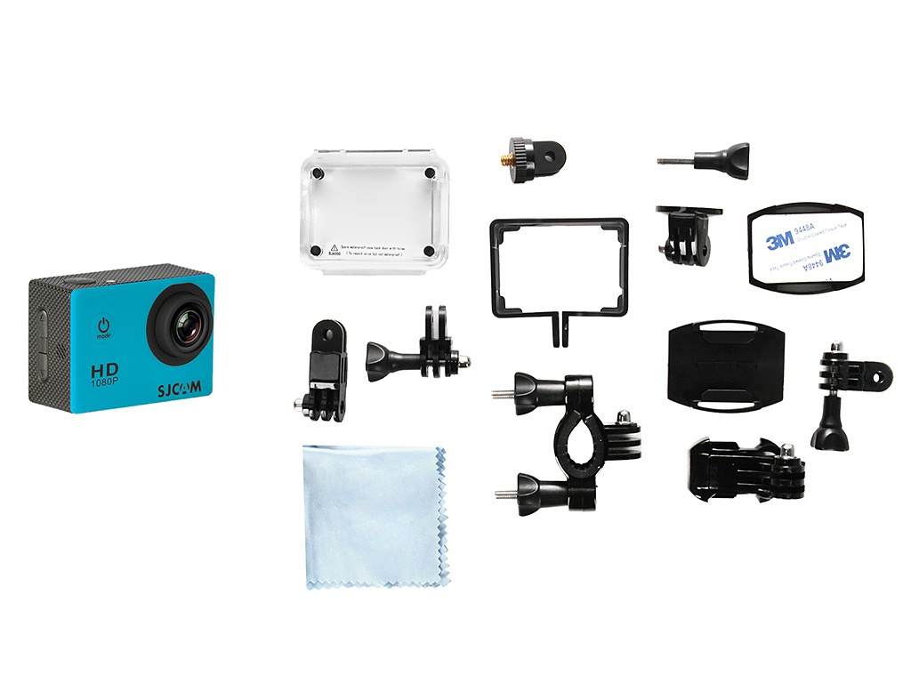Экшн-камера SJCAM SJ4000 Light Blue