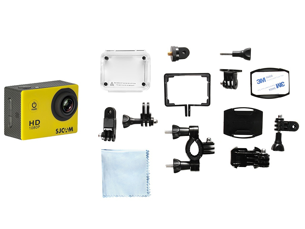 лучшая цена Экшн-камера SJCAM SJ4000 Yellow