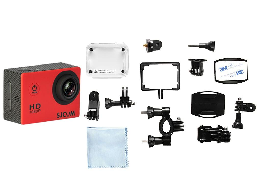 Экшн-камера SJCAM SJ4000 Red цена