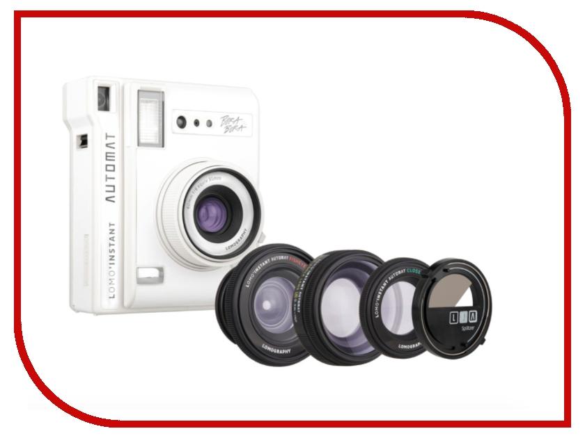 Фотоаппарат Lomography LomoInstant Automat + Lenses White LI850W