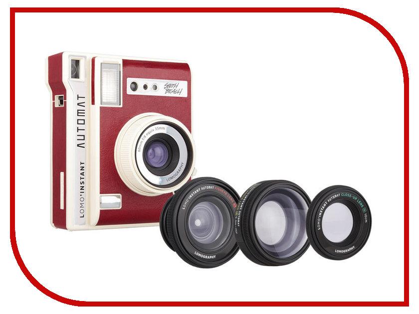 Фотоаппарат Lomography LomoInstant Automat + Lenses Luxury LI850LUX