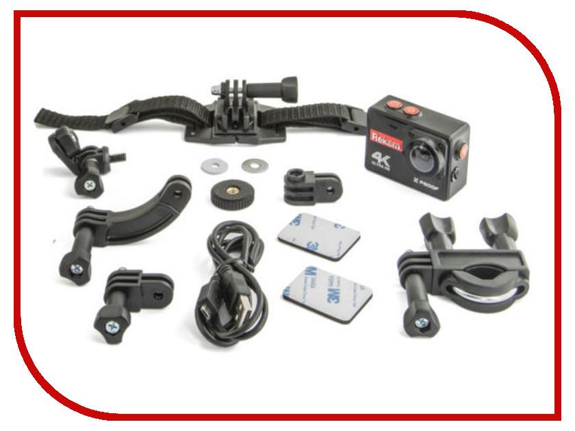 Экшн-камера Rekam XProof EX640 Black prolike 4k plac001bk black экшн камера