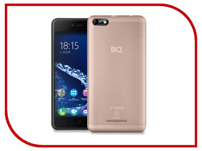 Сотовый телефон BQ 5058 Strike Power Easy Rose Gold Brushed смартфон bq mobile bq 5059 strike power grey matt