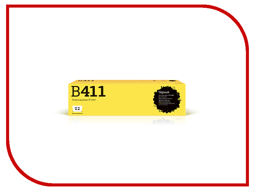 Картридж T2 TC-O411 для OKI B411d/B411dn/B431d/B431dn/B431dn+/MB461dn/MB471dn/MB471dnw/MB491dn t2 tc c725 h85