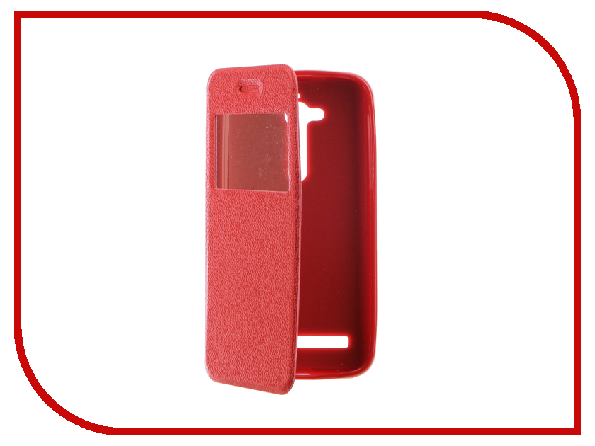 Аксессуар Чехол ASUS ZenFone Go ZB500KG Gecko Book Red G-BOOK-AS-ZB500KG-RED