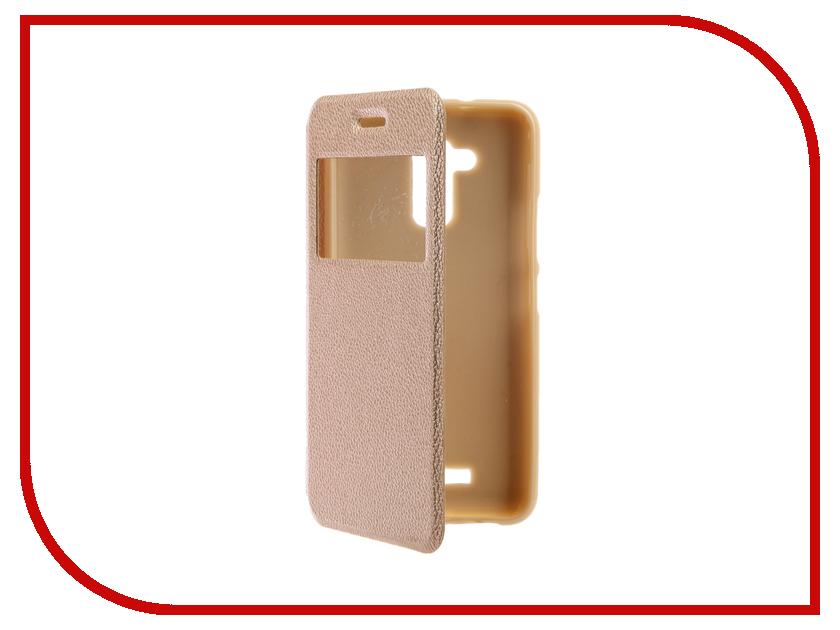 Аксессуар Чехол ASUSZenFone 3 Max ZC520TL Gecko Book Gold G-BOOK-AS-ZC520TL-GOLD аксессуар чехол asus zenfone 3 max zc520tl brosco black as zf3m softtouch black