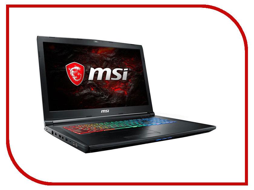 Ноутбук MSI GP72 7REX-675RU 9S7-1799B3-675 (Intel Core i5-7300HQ 2.5 GHz/8192Mb/1000Gb + 128Gb SSD/DVD-RW/nVidia GeForce GTX 1050Ti 4096Mb/Wi-Fi/Cam/17.3/1920x1080/Windows 10 64-bit) ноутбук hp 15 ay042ur