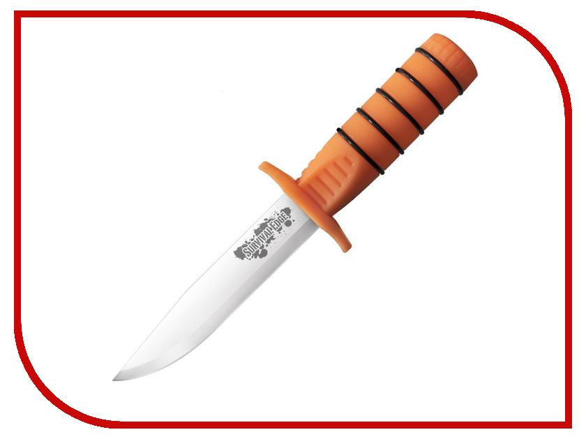 Нож Cold Steel Survival Edge Orange CS/80PHZ - длина лезвия 126мм бита бейсбольная cold steel tire boss bat 50 8 см