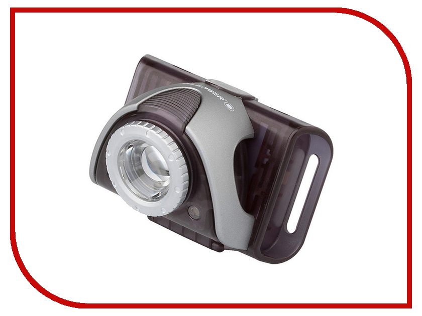 Фонарь LED Lenser SEO B5R Grey 9005-RG