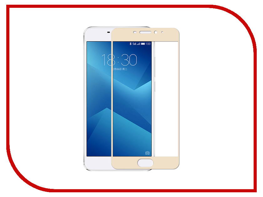 Аксессуар Защитное стекло Meizu M5 Note Gecko 2D FullScreen 0.26mm Gold ZS26-GMEIMM5 Note-2D-GOLD аксессуар защитное стекло sony xa1 gecko full screen 0 26mm 2d black zs26 gsonyxa1 2d bl