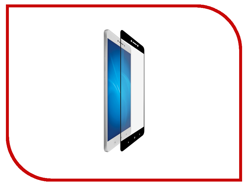 Аксессуар Защитное стекло Xiaomi Mi Max 6.44-inch Gecko 2D FullScreen 0.26mm Black ZS26-GXMMIMAX-2D-BL