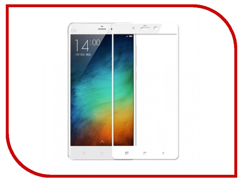 Аксессуар Защитное стекло Xiaomi Redmi Note 4 Gecko 2D FullScreen 0.26mm White ZS26-GXMRNOT4-2D-WH аксессуар защитное стекло sony xa1 gecko full screen 0 26mm 2d black zs26 gsonyxa1 2d bl