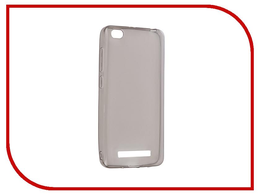 Аксессуар Чехол Xiaomi Redmi 4A Gecko Transparent-Glossy Black S-G-XIR4A-BL