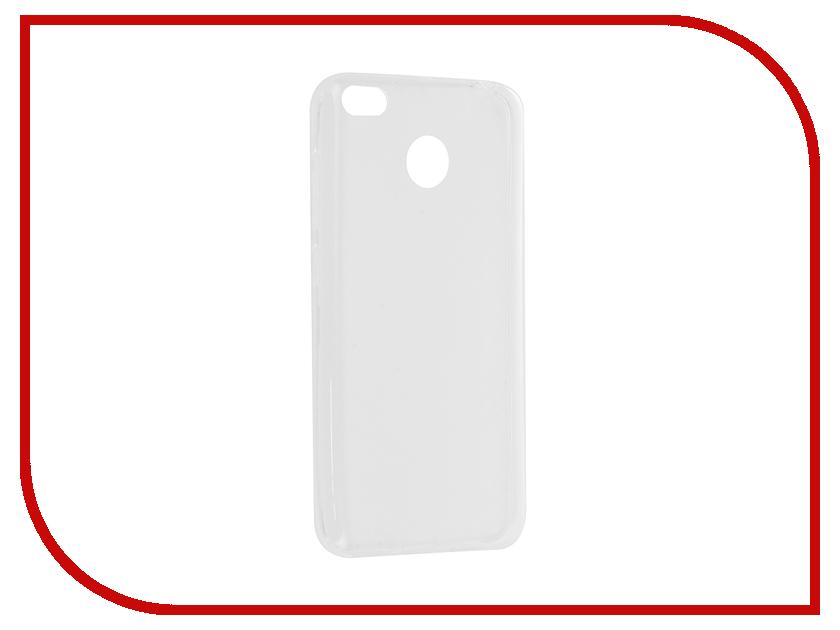 Аксессуар Чехол Xiaomi Redmi 4X Gecko Transparent-Glossy White S-G-XIR4X-WH защитный чехол для xiaomi redmi 4x