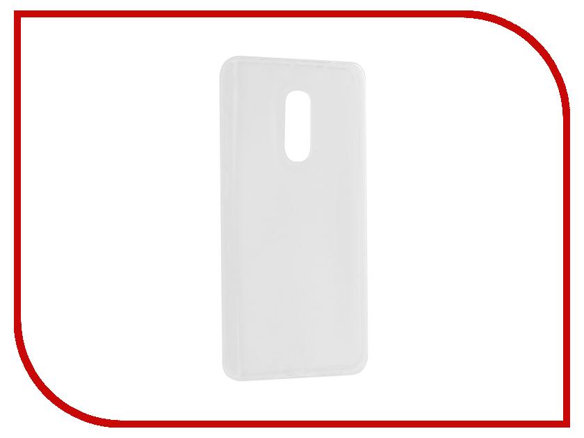 Аксессуар Чехол Xiaomi Redmi Note 4X Gecko Transparent-Glossy White S-G-XIRMNOTE4XWH чехол для xiaomi redmi 4 4 pro gecko flip case черный
