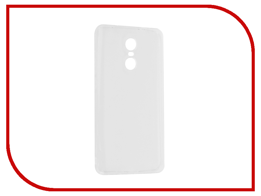 Аксессуар Чехол Xiaomi Redmi Pro Gecko Transparent-Glossy White S-G-XIRMPRO-WH аксессуар чехол nokia 230 230 dual sim gecko transparent glossy white s g nok230 wh