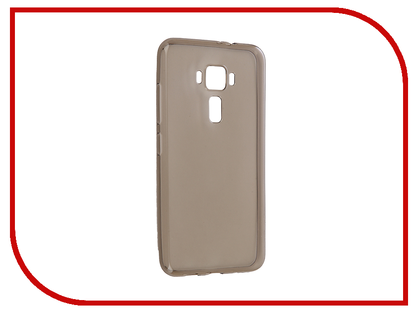 Аксессуар Чехол для ASUS ZenFone 3 ZE520KL Gecko Transparent-Glossy Black S-G-ASZ3-520KL-BL
