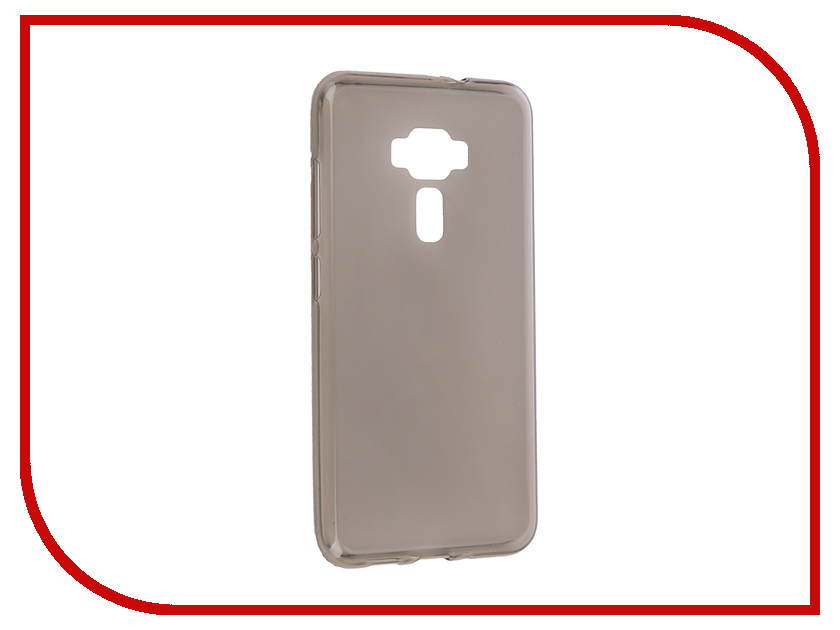 Аксессуар Чехол для ASUS ZenFone 3 ZE552KL Gecko Transparent-Glossy Black S-G-ASZ3-BL