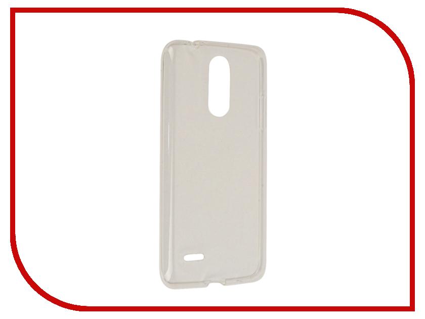 все цены на Аксессуар Чехол LG K7 (2017) Gecko Transparent-Glossy White S-G-LGK7-2017-WH онлайн
