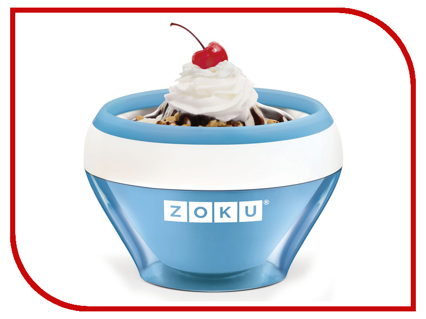 Мороженица Zoku Ice Cream Maker ZK120-BL ice cream maker kenwood 0wim280002 im280 ice cream machine hard scoop ice cream machine