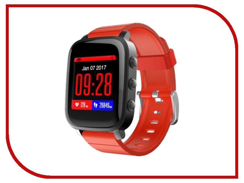 Умные часы SMA Time Black-Red