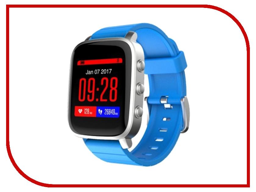 Умные часы SMA Time Silver-Blue