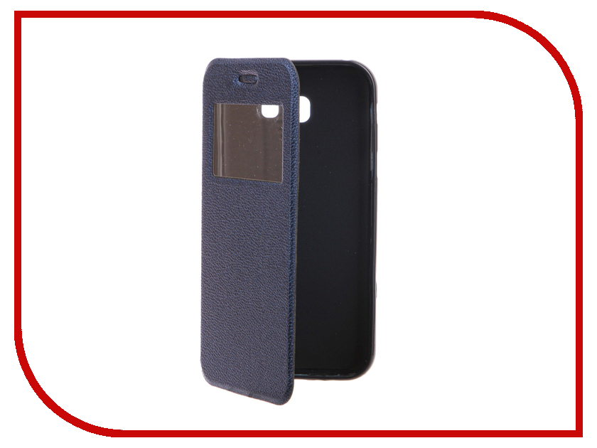 Аксессуар Чехол для Samsung Galaxy A7 2017 A720F Gecko Book Blue G-BOOK-SAMA7-2017-DBLU аксессуар чехол samsung galaxy a7 duos a700fd a700f cojess book case new black с визитницей