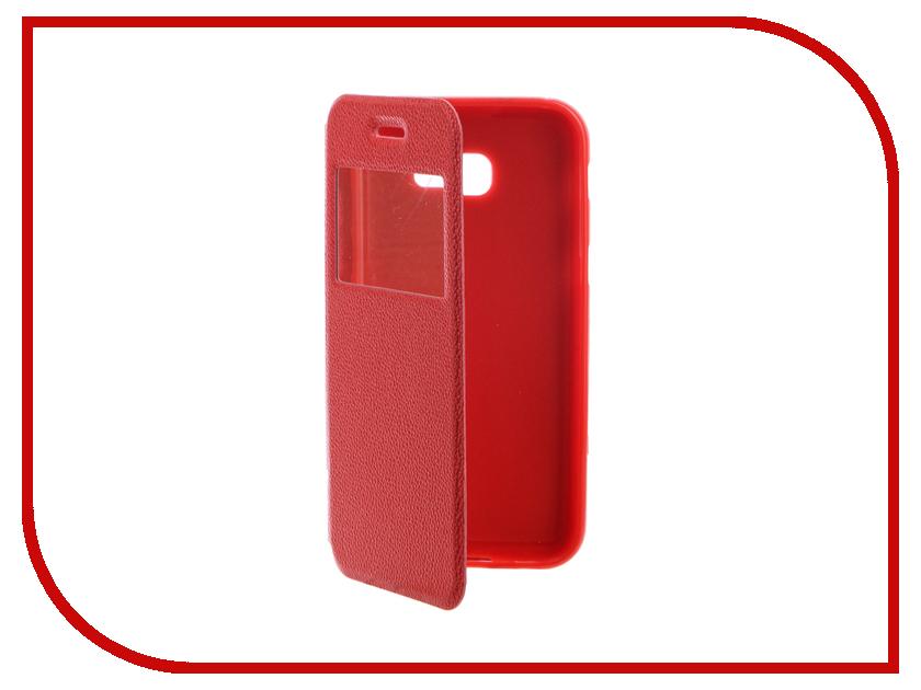Аксессуар Чехол для Samsung Galaxy A5 2017 A520F Gecko Book Red G-BOOK-SAMA5-2017-RED