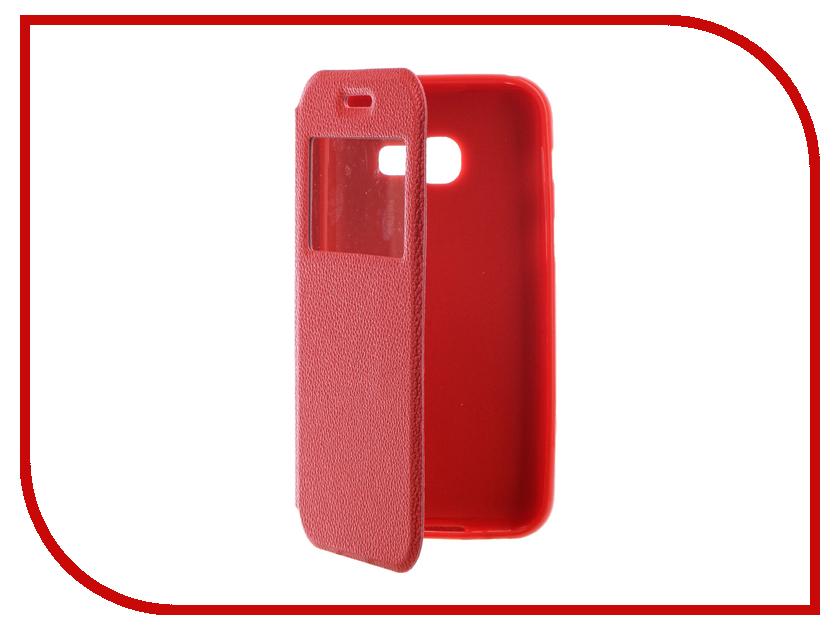 Аксессуар Чехол Samsung Galaxy A3 2017 A320F Gecko Book Red G-BOOK-SAMA3-2017-RED