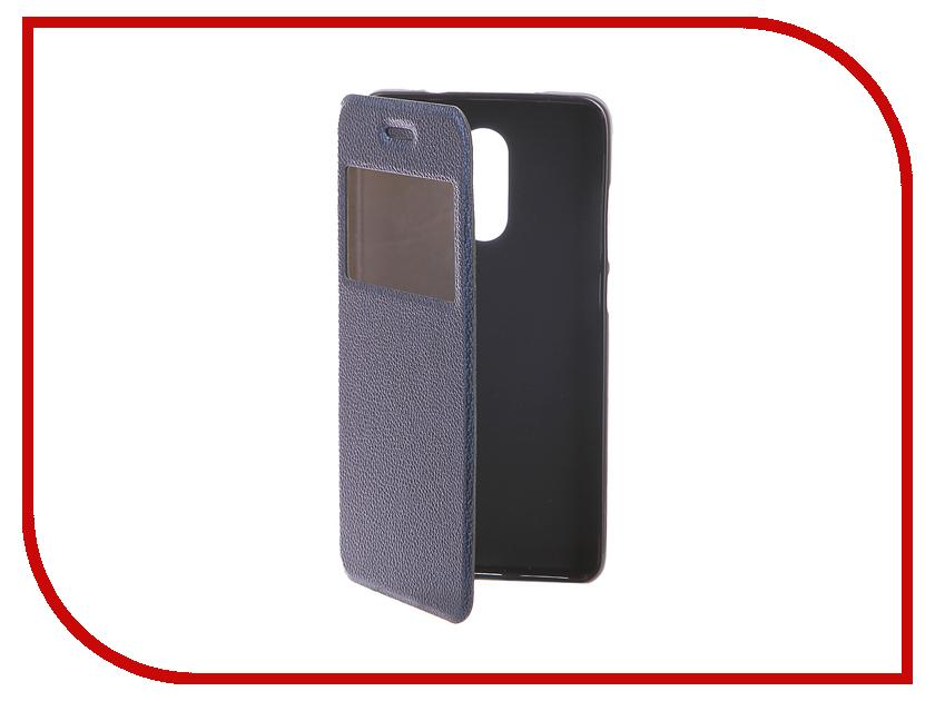 Аксессуар Чехол Xiaomi Redmi Pro Gecko Book Blue G-BOOK-XIAM-PRO-DBLU аксессуар чехол xiaomi mi5s gecko book red g book xiam 5s red