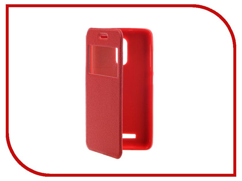 Аксессуар Чехол Xiaomi Redmi Note 3 Gecko Book Red G-BOOK-XIAM-N3-RED аксессуар чехол xiaomi redmi note 3 gecko book black g book xiam n3 bl