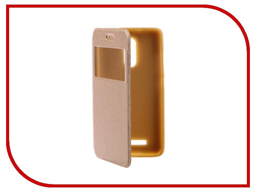 Аксессуар Чехол Xiaomi Redmi Note 3 Gecko Book Gold G-BOOK-XIAM-N3-GOLD аксессуар чехол xiaomi redmi note 3 gecko book black g book xiam n3 bl