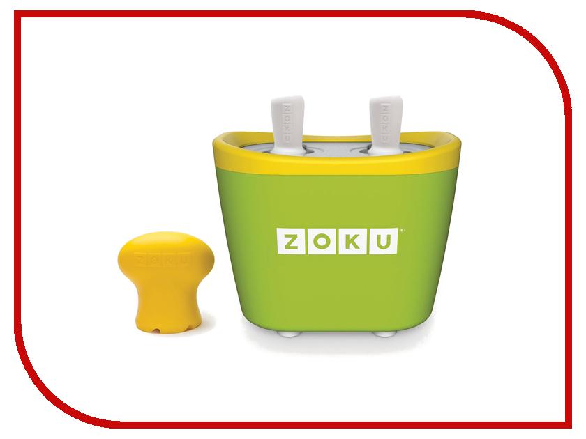 Мороженица Zoku Duo Quick Pop Maker ZK107-GN