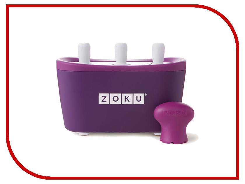 Мороженица Zoku Triple Quick Pop Maker ZK101-PU