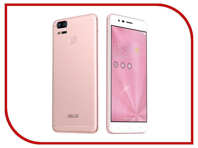 Сотовый телефон ASUS ZenFone 3 Zoom ZE553KL 64Gb Pink сотовый телефон asus zenfone live zb553kl 16gb pink