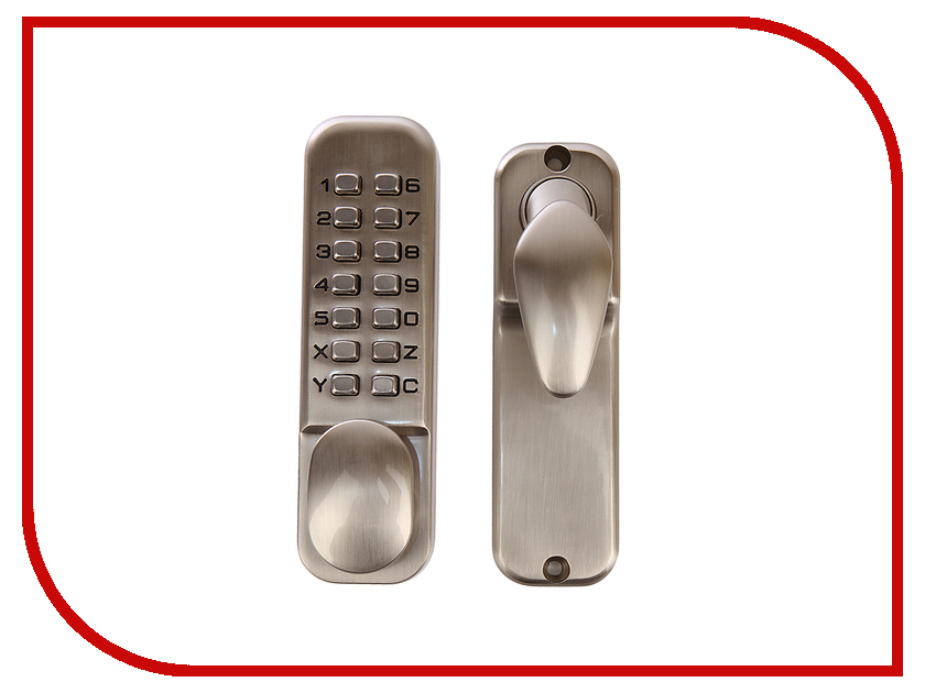Нора-М 230 Brushed Nickel 7300