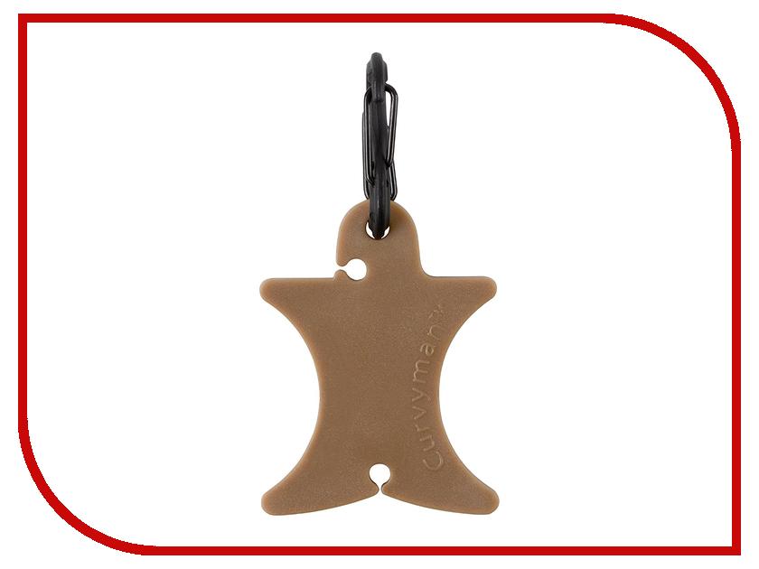 Катушка для наушников Nite Ize Curvyman Brown CVM-03-28