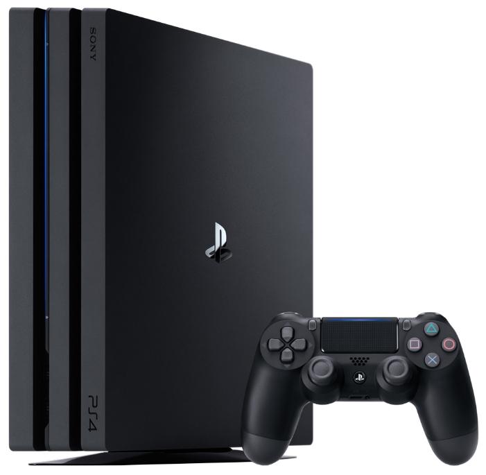 Игровая приставка Sony PlayStation 4 Pro 1Tb Black CUH-7108B цена 2017