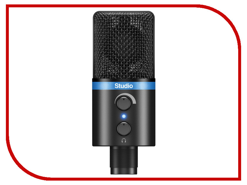 Микрофон IK Multimedia iRig Mic Studio Black