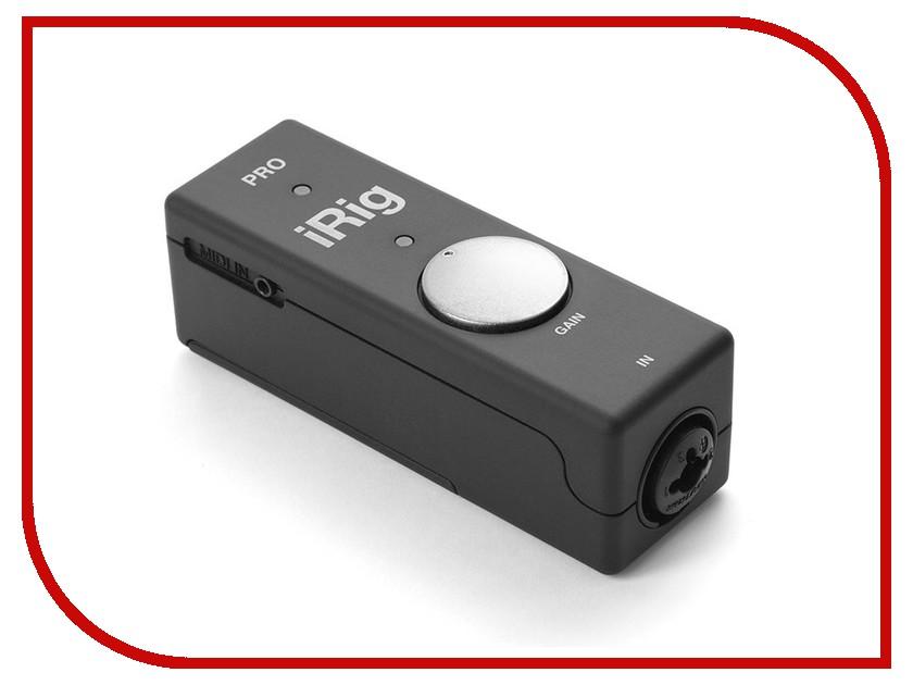 Аудиоинтерфейс IK Multimedia iRig Pro