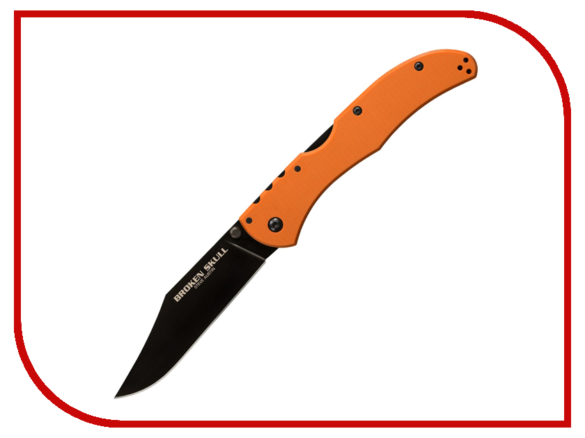 Нож Cold Steel Broken Skull 1 Orange CS / 54SBOR - длина лезвия 102мм