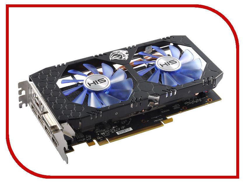 Видеокарта HIS Radeon RX 570 IceQ X2 OC 4GB 1244Mhz PCI-E 3.0 4096Mb 7000MHz 256bit DVI HDMI HS-570R4DCNR
