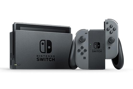 Игровая приставка Nintendo Switch Grey