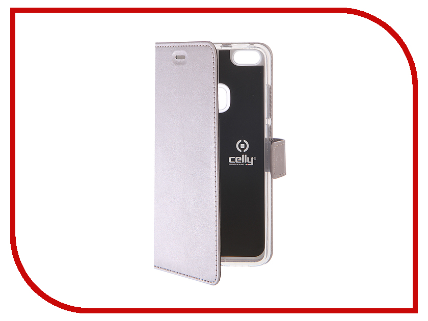 Аксессуар Чехол Huawei P10 Lite Celly Air Case Silver AIR648SV<br>